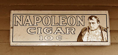 Photograph - Napoleon Cigars by David Lee Thompson