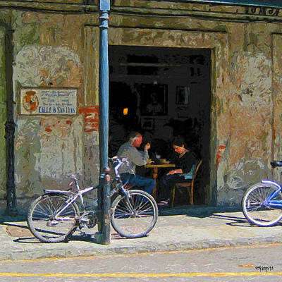 Photograph - Napoleon House Bar New Orleans French Quarter by Rebecca Korpita