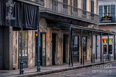 Photograph - Napoleon House In French Quarter by Kathleen K Parker