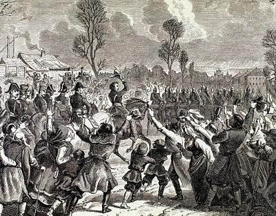 Napoleonic Wars Enthusiasm Art Print by Prisma Archivo