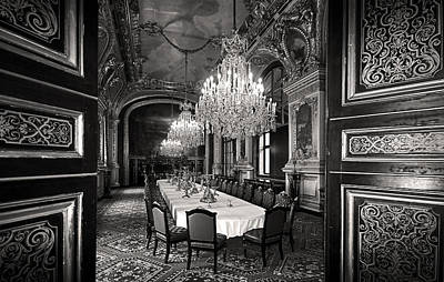 Photograph - Napoleon's Dinning Room Paris by Pierre Leclerc Photography