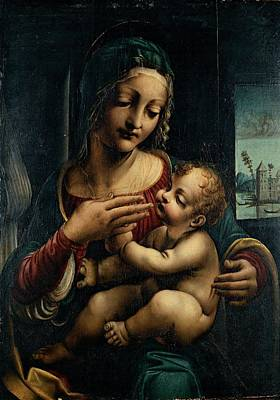Mondjulygp1 Photograph - Napoletano Francesco, Madonna by Everett