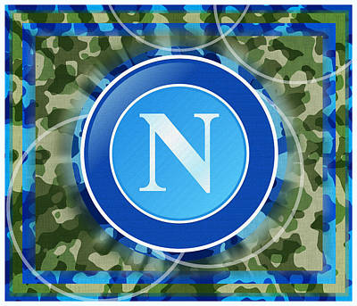 Napoli Football Soccer Italy Original by Tony Rubino