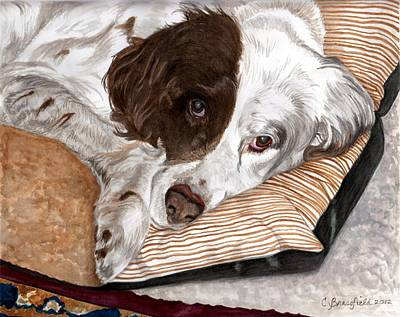 Painting - Naptime by Cynthia Brassfield