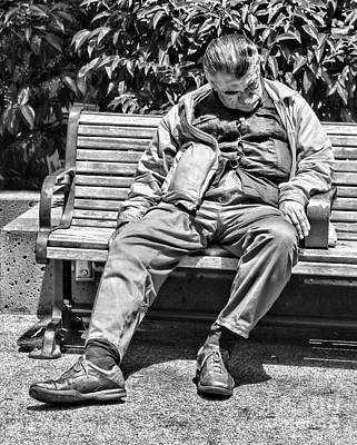 Photograph - Naptime In San Francisco China Town By Diana Sainz by Diana Raquel Sainz