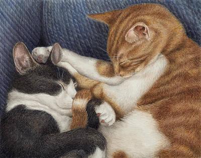 Sleeping Painting - Naptime by Pat Erickson