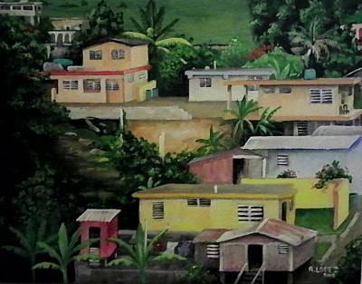 Naranjito Puerto Rico Original by Ramon Lopez Collazo