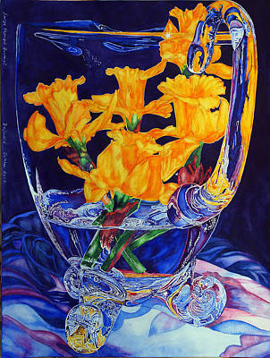 Painting - Narcisses Dans Un Vase From Master Class by Xavier Francois