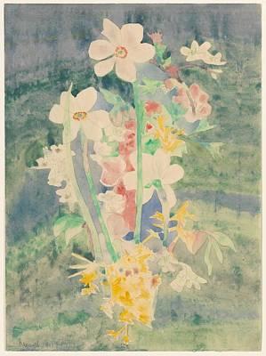 Narcissi Art Print by Charles Demuth