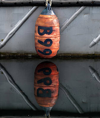 Bouys Photograph - Narcissistic Bouy by Jani Freimann