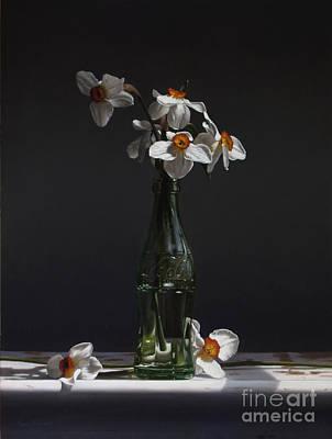 Preston Painting - Narcissus by Larry Preston