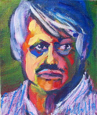 Painting - Narendra by Les Leffingwell