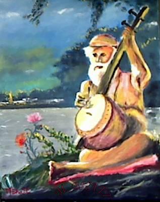 Painting - Nareshvar Nath by M Bhatt