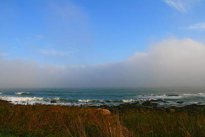 Photograph - Narragansett Ocean Landscape  by Neal Eslinger