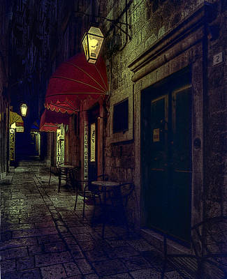 Photograph - Narrow Cobbled Street  by Don Wolf