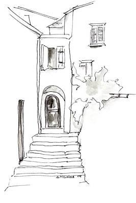 Narrow Entryway Art Print