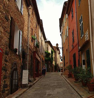 Photograph - Narrow Street In Provence by Dany Lison