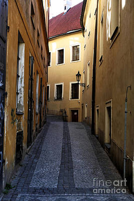 Photograph - Narrow Street by John Rizzuto