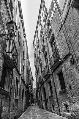 Narrow Streets Of Spain Art Print by Liesl Marelli
