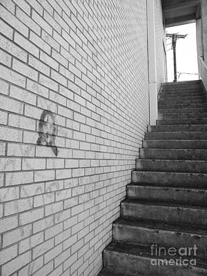 Narrow Way Art Print
