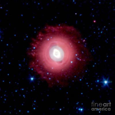 Star Photograph - Nasa Ghost Of Jupiter Nebula by Rose Santuci-Sofranko