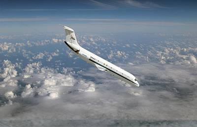 Nasa's C-9 Zero-gravity Aeroplane Art Print by Science Photo Library
