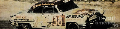 Drawings Royalty Free Images - Nascar 1953 Royalty-Free Image by Drawspots Illustrations