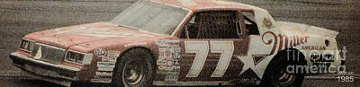 Drawings Royalty Free Images - Nascar 1985 Royalty-Free Image by Drawspots Illustrations