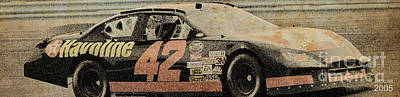 Garage Mixed Media - Nascar 2005 by Pablo Franchi