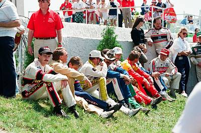 Earnhardt Photograph - Nascar Greats- Earnhardt Allison Petty Martin by Retro Images Archive