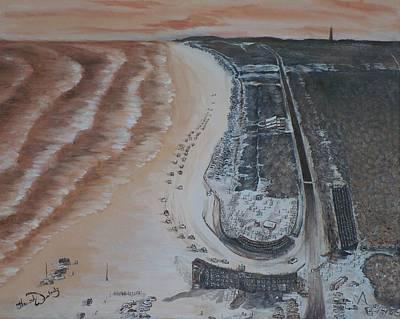 Nascar's Humble Begininngs Art Print by Hannah Woleslagle