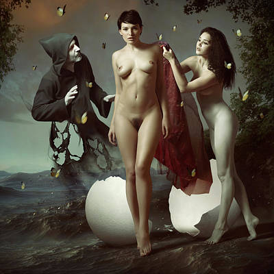 Venus Photograph - Nascita Di Venere by Igor_voloshin