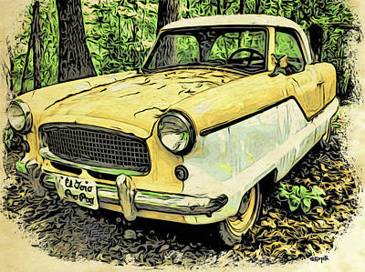 Photograph - Nash Metropolitan by Rebecca Korpita