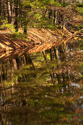 Photograph - Nashua River by Paul Mangold