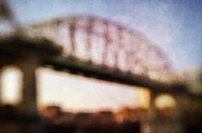 Photograph - Nashville Bridge I by David Morel