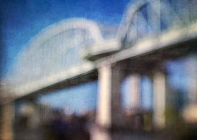 Photograph - Nashville Bridge II by David Morel