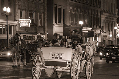 Photograph - Nashville Carriage Ride by John McGraw