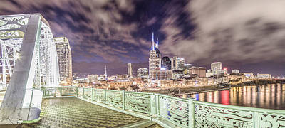 Photograph - Nashville Cityscape  by John McGraw