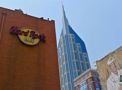 Photograph - Nashville Downtown by Denise Mazzocco