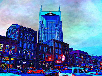 Brick Schools Digital Art - Nashville Guardian by Glenn McCarthy Art and Photography