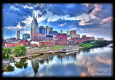 Nashville Art Print by Jennifer Pinckney