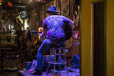 Musicians Royalty Free Images - Nashville Musician in Bar Royalty-Free Image by John McGraw
