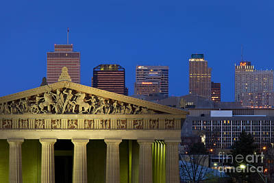 Photograph - Nashville Parthenon by Brian Jannsen