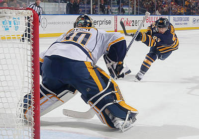 Photograph - Nashville Predators V Buffalo Sabres by Joe Dinki