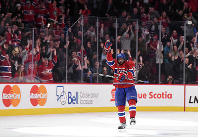 Photograph - Nashville Predators V Montreal Canadiens by Francois Lacasse