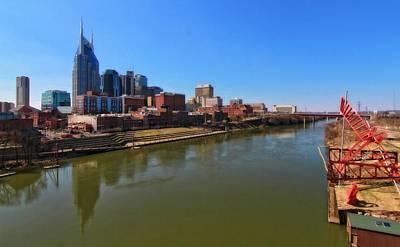 Nashville Skyline Photograph - Nashville Skyline  by Dan Sproul