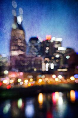 Photograph - Nashville Skyline IIi by David Morel
