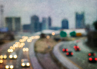 Photograph - Nashville Skyline Iv by David Morel