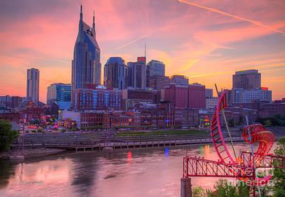 Nashville Sunset Art Print