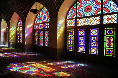 Photograph - Nasir Al-mulk Mosque by Kickimages